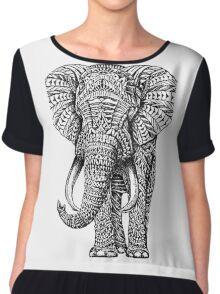 elephant art Chiffon Top