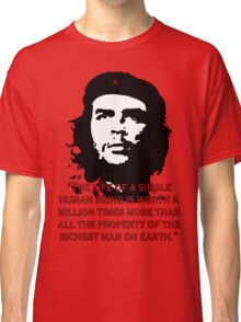 Che Guevara Quote Classic T-Shirt