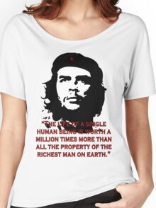 Che Guevara Quote Women's Relaxed Fit T-Shirt