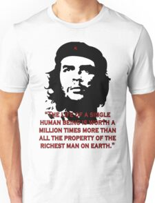 Che Guevara Quote Unisex T-Shirt