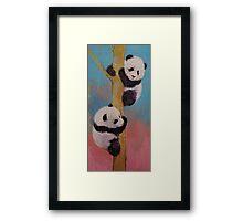 Panda Fun Framed Print