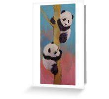 Panda Fun Greeting Card