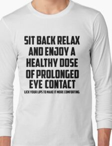 Bo Burnham - Prolonged Eye Contact, 2.0 Long Sleeve T-Shirt