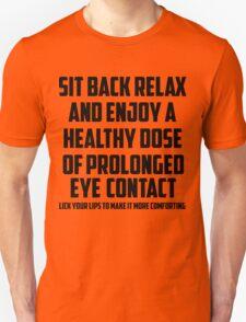 Bo Burnham - Prolonged Eye Contact, 2.0 Unisex T-Shirt
