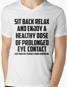 Bo Burnham - Prolonged Eye Contact, 2.0 Mens V-Neck T-Shirt