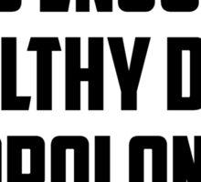 Bo Burnham - Prolonged Eye Contact, 2.0 Sticker