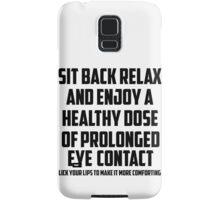 Bo Burnham - Prolonged Eye Contact, 2.0 Samsung Galaxy Case/Skin