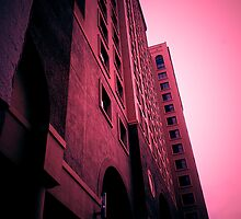 Building at Sunset by Byron Croft Photography by ByronCroft