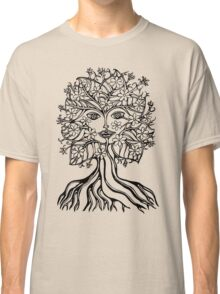 Tree fairy, nature, earth, peace, forest, green, save, planet, day, Classic T-Shirt