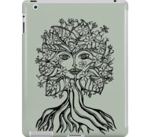 Tree fairy, nature, earth, peace, forest, green, save, planet, day, iPad Case/Skin