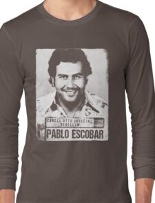 Pablo Escobar Long Sleeve T-Shirt