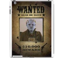 Buffy The Judge Wanted 1 iPad Case/Skin