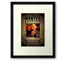 Buffy The Master Wanted Framed Print