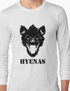 Hyenas (black) Long Sleeve T-Shirt
