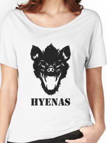 Hyenas (black) Women's Relaxed Fit T-Shirt