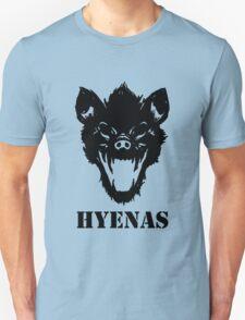 Hyenas (black) Unisex T-Shirt