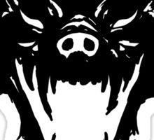 Hyenas (black) Sticker