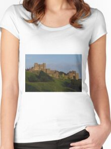 Dover Castle; The Key to England Women's Fitted Scoop T-Shirt
