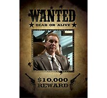 Buffy The Mayor Wanted  Photographic Print