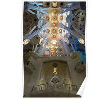 Sagrada Familia Interior Poster