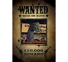 Buffy The Mayor Demon/Snake  Wanted Photographic Print