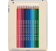Colorfull pencil iPad Case/Skin