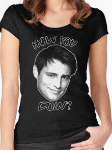 Joey how you doin Women's Fitted Scoop T-Shirt