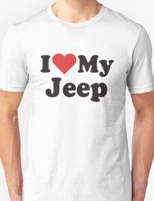 I Heart Love My Jeep T-Shirt