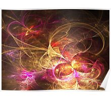 Leaving Home, Coming Home - Abstract Fractal Artwork Poster