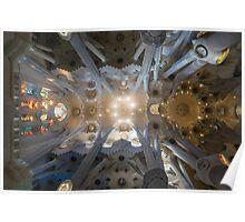 Sagrada Familia Ceiling Poster