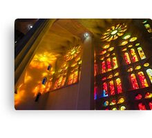 Sagrada Familia Spirit of Gaudi Canvas Print