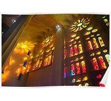 Sagrada Familia Spirit of Gaudi Poster