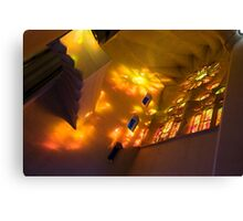 Spirit of Gaudi, Sagrada Familia Canvas Print