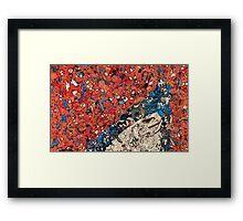 Spiderman Graphix Framed Print