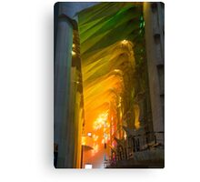 Rainbow Glass, sagrada Familia Canvas Print