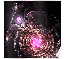 Center of the Universe - Abstract Fractal Artwork Poster