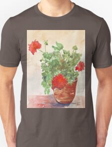My Geranium would like to see you... Unisex T-Shirt