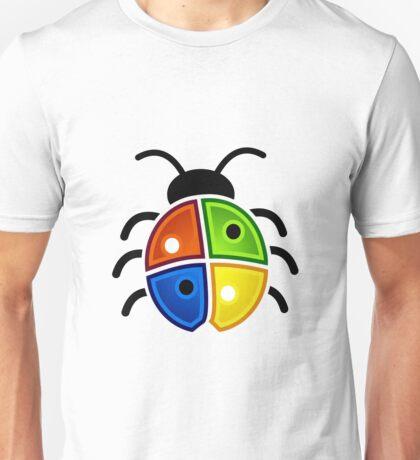 coloured bug Unisex T-Shirt