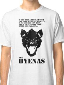 Join the Hyenas (black) Classic T-Shirt