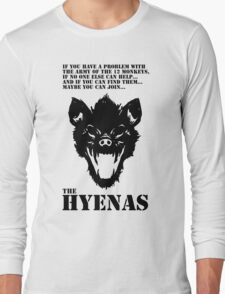 Join the Hyenas (black) Long Sleeve T-Shirt