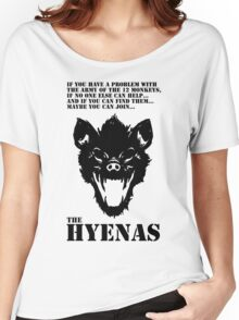 Join the Hyenas (black) Women's Relaxed Fit T-Shirt