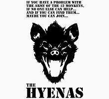 Join the Hyenas (black) Unisex T-Shirt