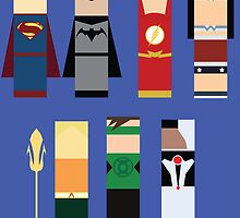 The Justice League  by Pathos