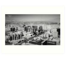 Vegas In Miniature Art Print