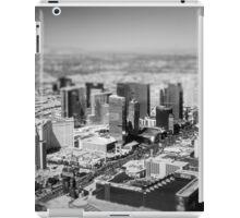 Vegas In Miniature iPad Case/Skin