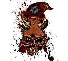 Evil Skulls Photographic Print