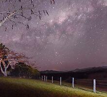 Milky Way, nr Murwillumbah, NSW by Ann Pinnock