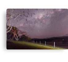 Milky Way, nr Murwillumbah, NSW Canvas Print