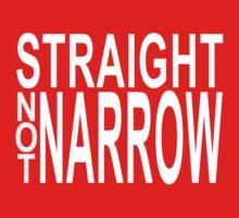 straight not narrow One Piece - Long Sleeve