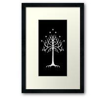 Tree Of Gondor Framed Print